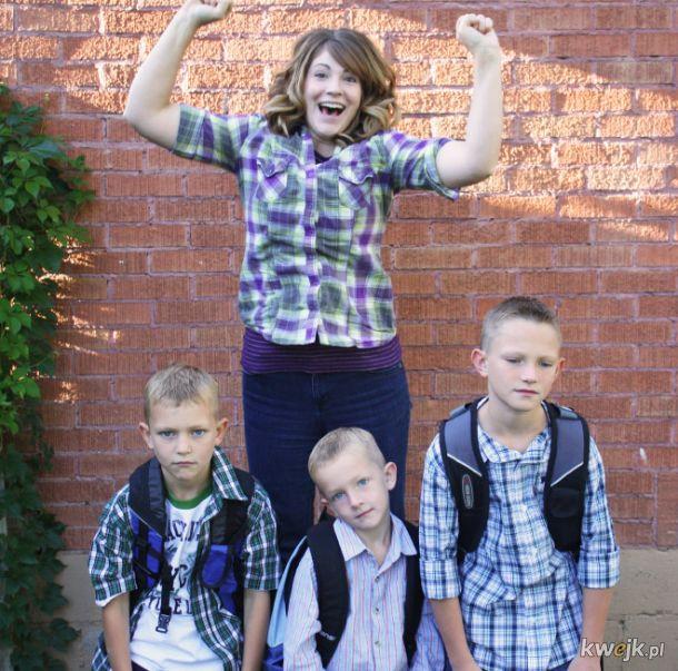 Kiedy dzieci w końcu poszły do szkoły
