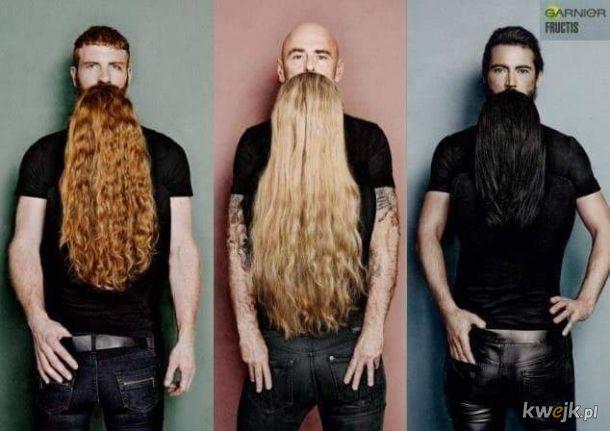 Panowie, długie brody nadal w modzie!