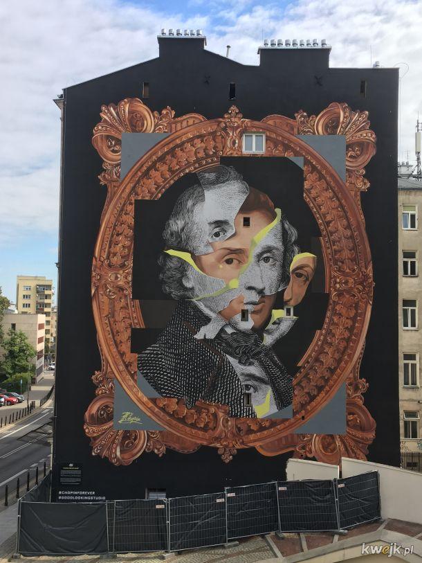Takie murale szanuję. Fryderyk Chopin