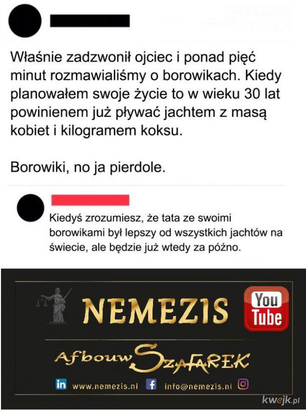 Kiedyś zrozumie...YouTube Szafarek Nemezis
