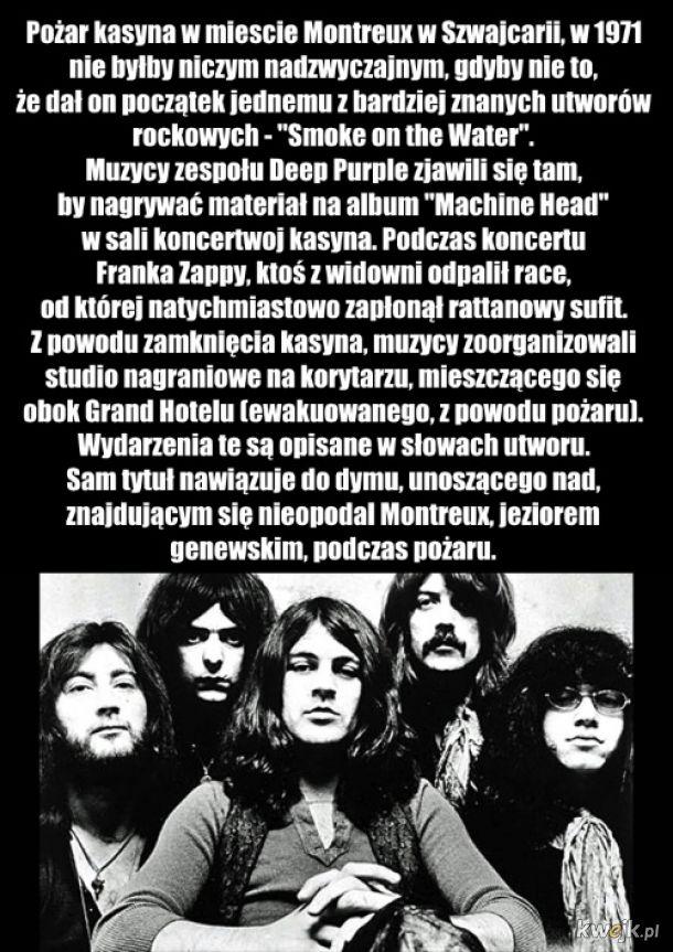 Kilka ciekawostek ze świata rocka