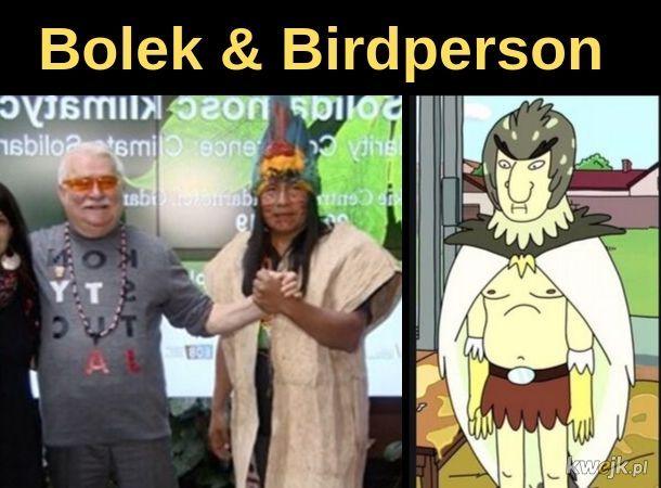 Bolek and Birdperson