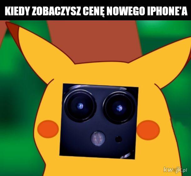 Zdziwiony ajfon