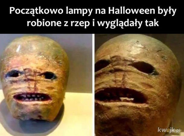 Halloweenowe lampy kiedyś