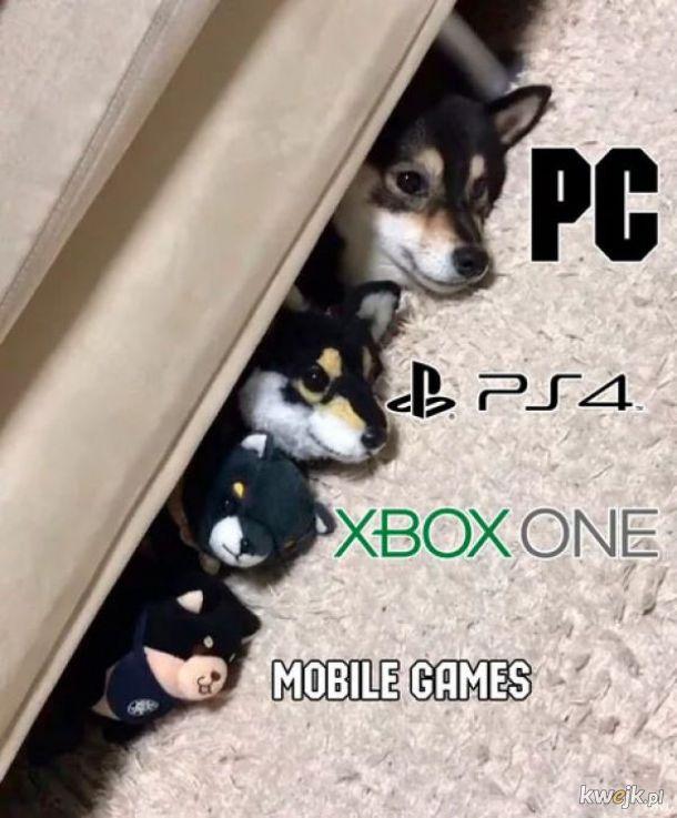 Konsole i PC