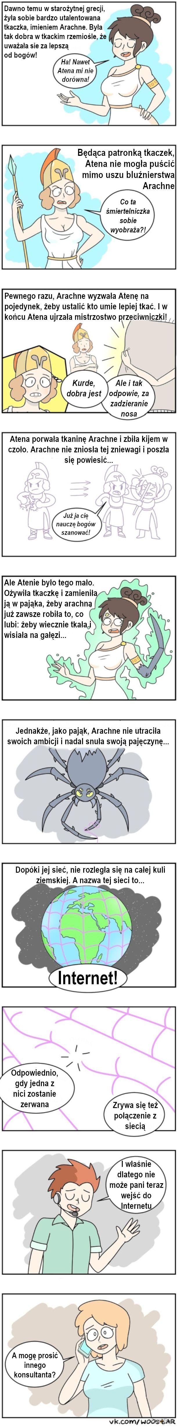 Mit o Arachne
