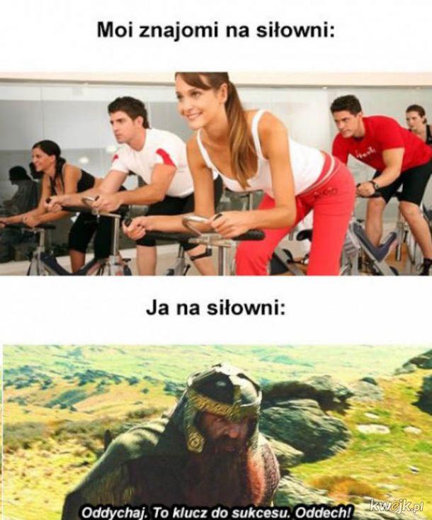 Tymczasem na siłowni