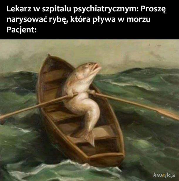 Ryba w morzu