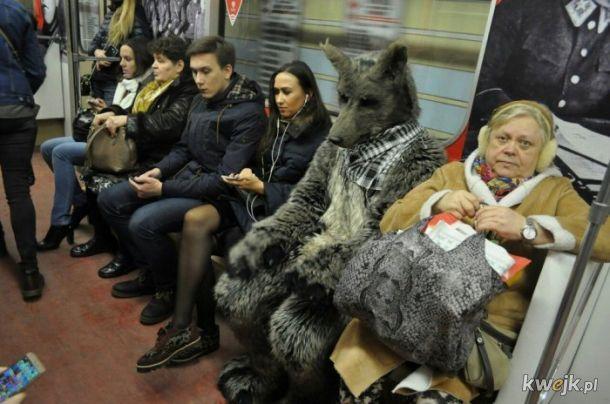 Tymczasem w moskiewskim metrze