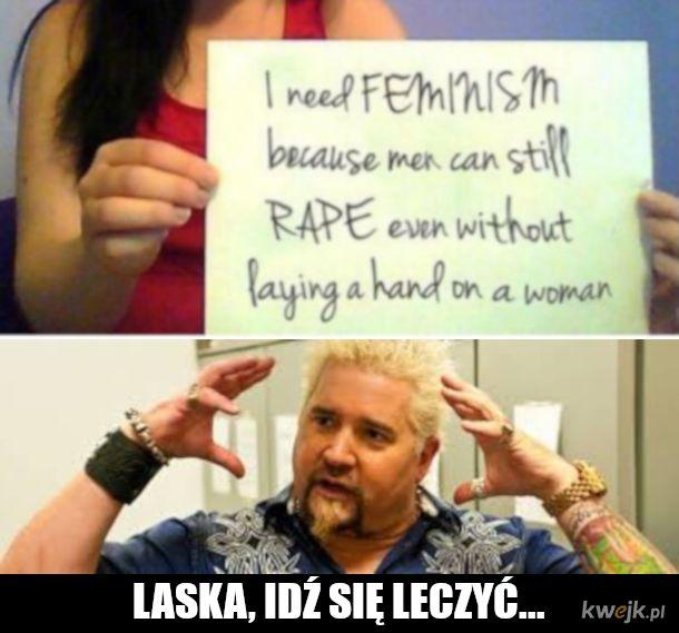 Gwałt bezdotykowy to problemy z głową