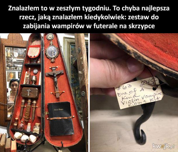 Dziwne rzeczy znalezione w second-handach