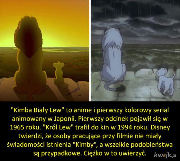 """Podobieństwa między """"Królem Lwem"""" i """"Kimbą Białym Lwem"""""""