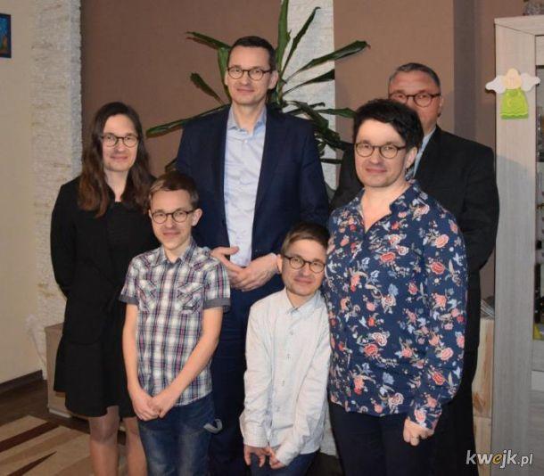 Morawiecki z rodziną