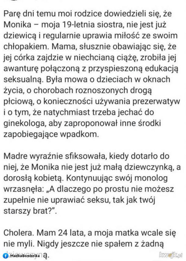 Matka robi przypał