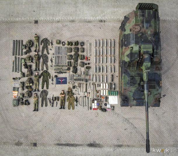 Zestaw dla dużych chłopców: czołg