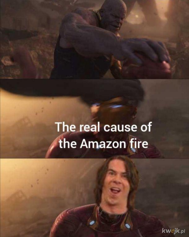 Prawdziwy powód pożaru