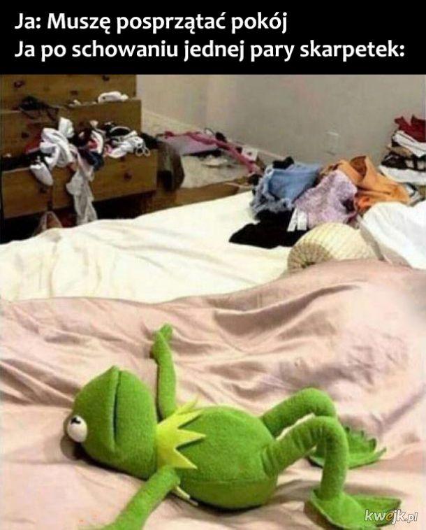 Sprzątanie pokoju