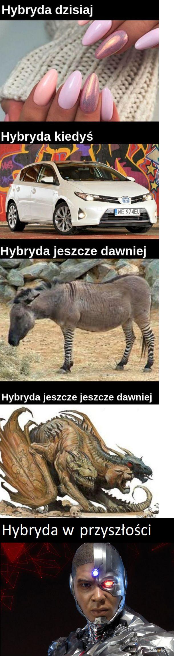 Hybryda kiedyś, teraz i ...kiedyś