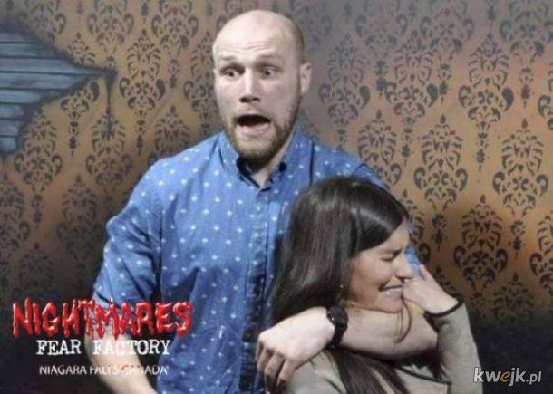 Dom Strachu Niagara Falls publikuje zdjęcia śmiałków, którzy przestraszyli się u nich nie na żarty