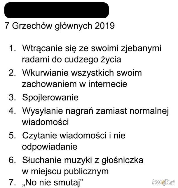 Grzechy wersja 2019