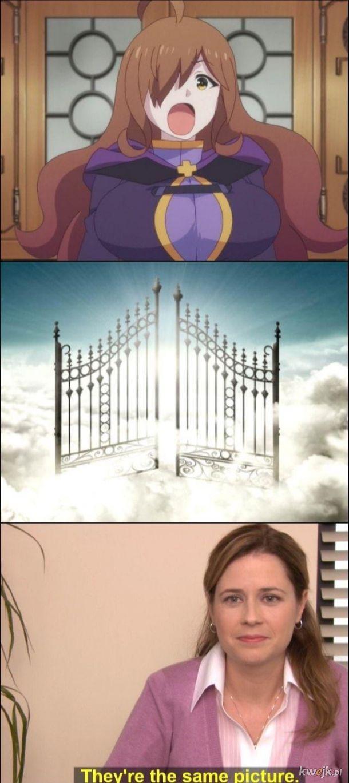 It's like...it was Made In Heaven
