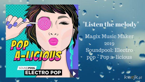 Nowy utwór electro pop. Zapraszam.  https://www.youtube.com/watch?v=xt7367elt3A&list=PLWg6TkzqnP6O5BmCDBnnnIOu2TqVh4j7e&index=16