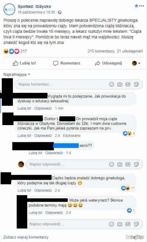 Giżycko, Polska B mocno