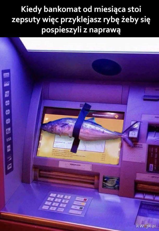 Zepsuty bankomat