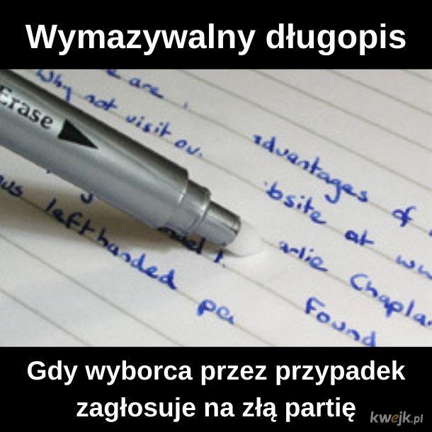 Wymazywalny długopis