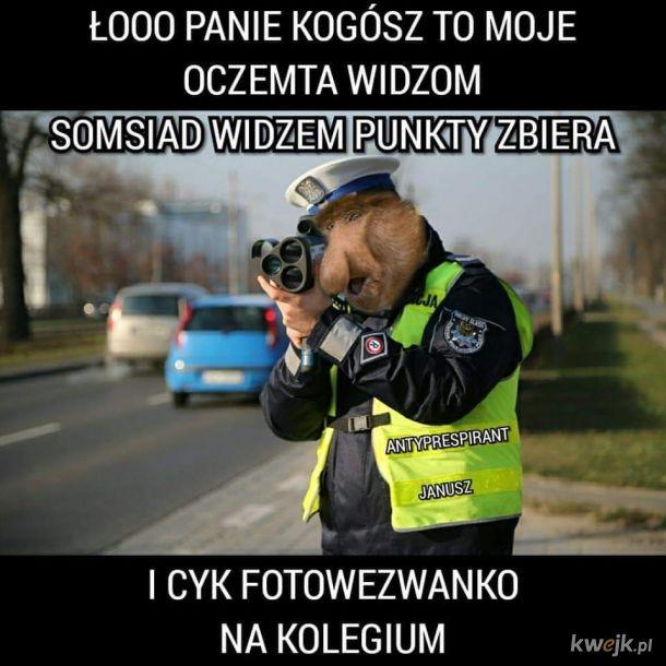 Aspirant Janusz Kontratakuje