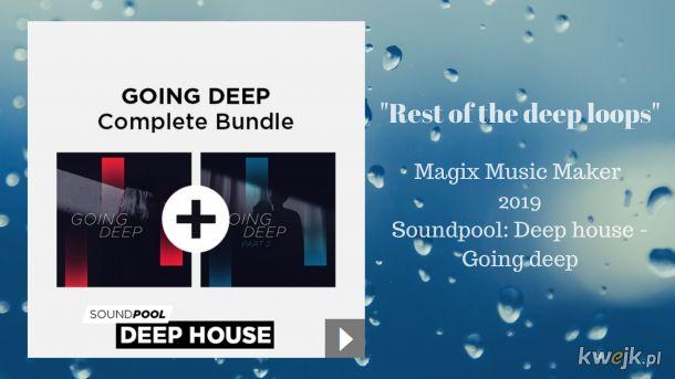 Nowy utwór deep house. Zapraszam.  https://www.youtube.com/watch?v=fNZ9DRZZ-x0&list=PLWg6TkzqnP6O5BmCDBnnnIOu2TqVh4j7e&index=15