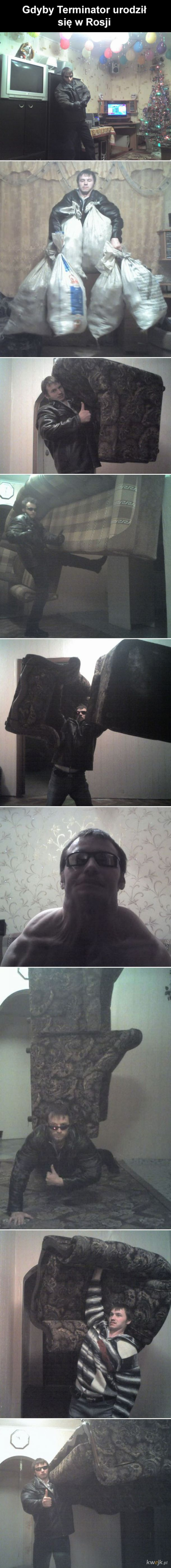 Terminator w Rosji