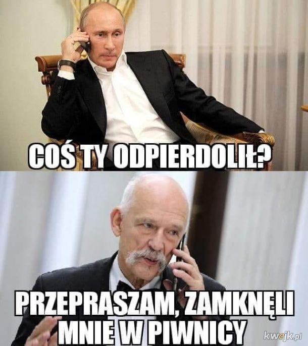 Putin pyta Ozjasza !