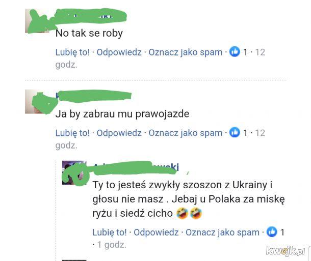 Ukrainiec vs Polak...