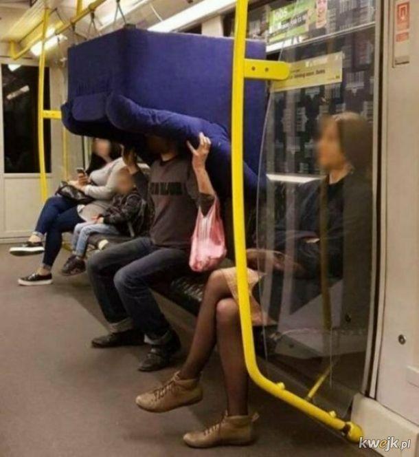 Dziwni ludzie spotkani w metrze