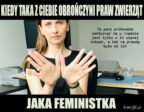 """""""Prawdomówna"""" feministka i weganka ze skórzaną galanterią"""