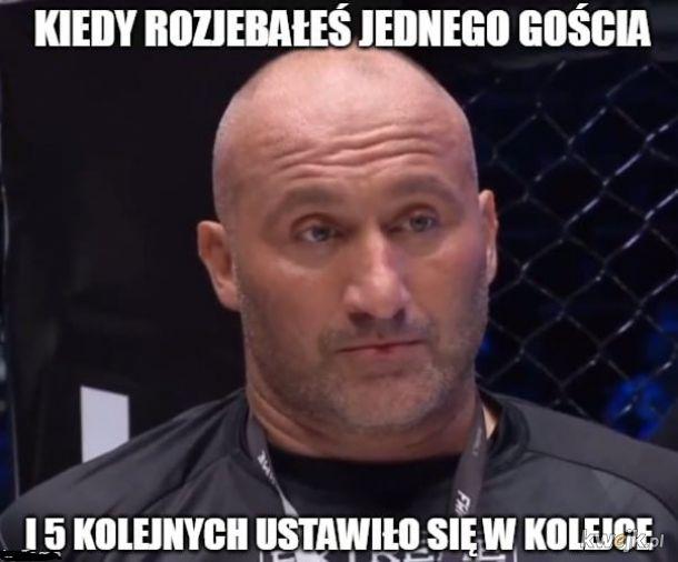 Mistrz Fame MMA nie ma lekko
