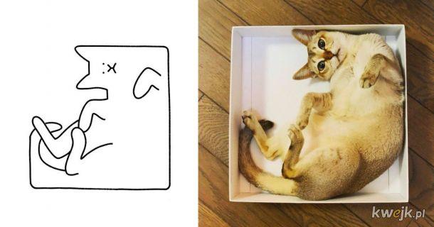 Bardzo proste rysunki zwierząt