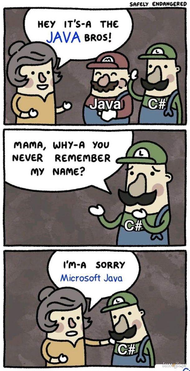 Java zniknie w 2020