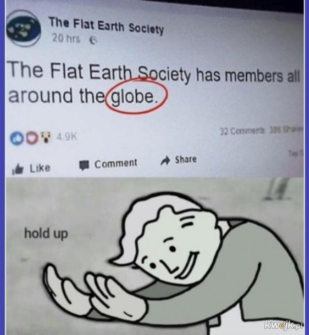 Flat Earth...