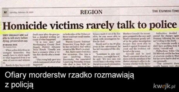 Najgłupsze nagłówki z prasy zagranicznej