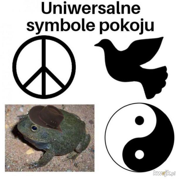 Uniwersalne symbole pokoju