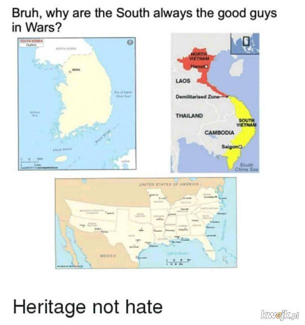 Południe to zawsze ci dobrzy