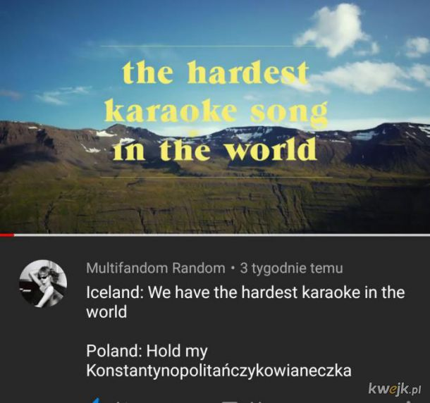 Najtrudniejsza piosenka karaoke świata