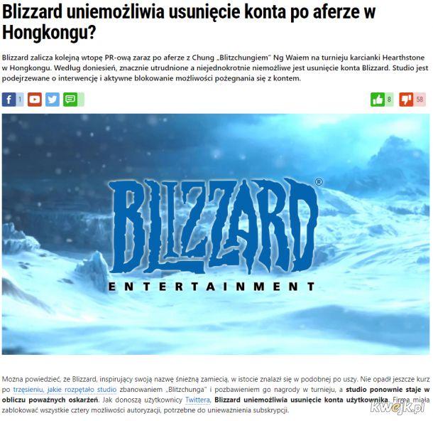 Blizzarda kompromitacji ciąg dalszy