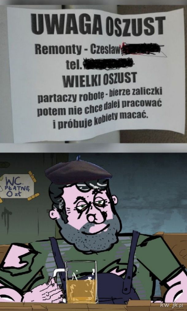 Pan Wiesio w akcji
