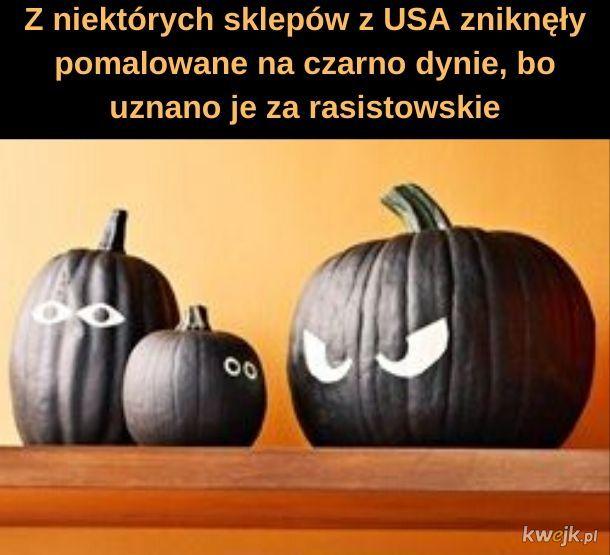 Trzaba jednak zaznaczyć, że przestępczość wśród czarnych dyń jest wyższa niż wśród pomarańczowych