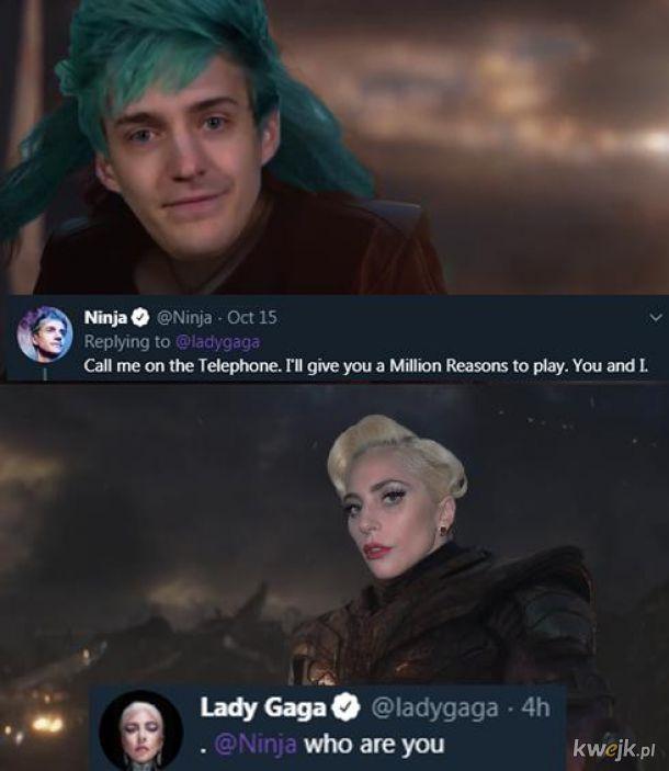 Lady Gaga kontra Ninja