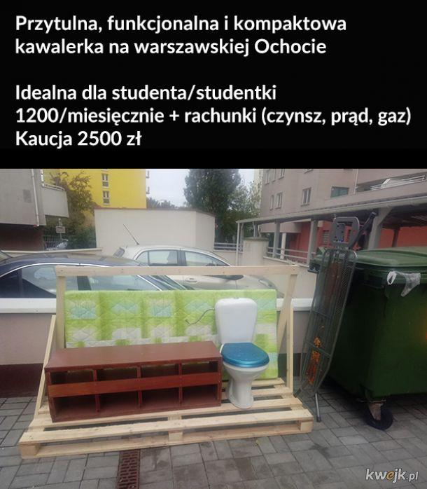 Szukanie mieszkania w Warszawie