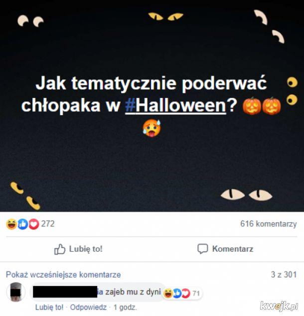 Podryw w Halloween
